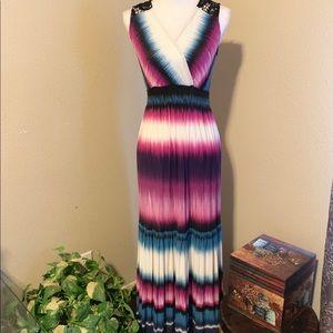 Soma Maxi Lounge Dress (sdf228)